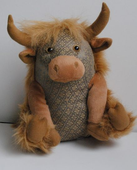 Dora Designs  Angus Highland Cow